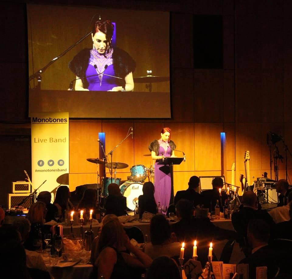 Claire Speaking BIBA Dinner4 | Mental Health in Business Ltd